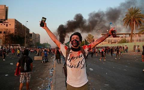 iraq protests Baghdad 2019