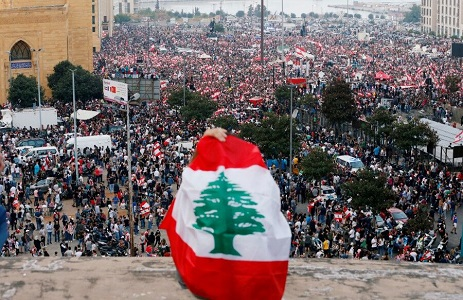 lebanon demonstrations