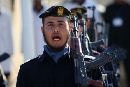 palestine hamas police officers