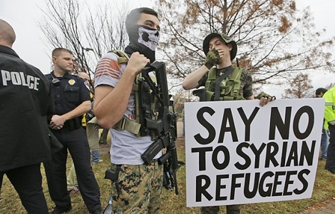 usa antimuslim protest
