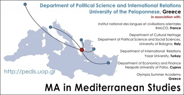 Call for Applications  Master of Arts (M.A.) in Mediterranean Studies (2018/2019)